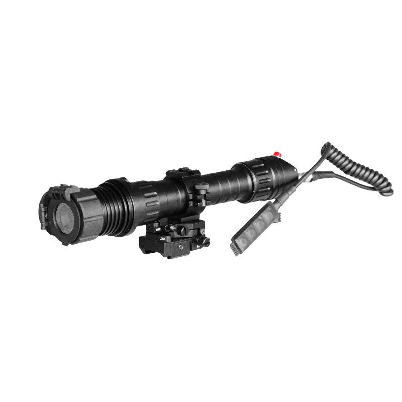 Livraison directe Haute puissance zoomable faisceau réglable 100 mw vert laser lampe de poche pour la chasse laser auto-défense désignateur