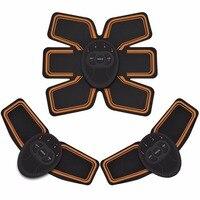 Muscle Trainer ABS Stimulator Abdominal Toning Belt Unisex Wireless Body Gym Fitness Training Gear Fat Burner