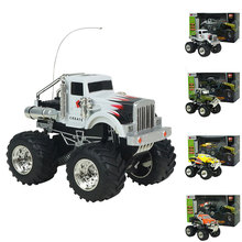 1:43 RC Car Rock Crawlers Rally Cimbing Car 4×4 Double Motors Bigfoot Car Remote Control Model Off-Road Vehicle Toy