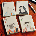 JOYTOP Fashion Dog Series Notebook A5 Blank Page Horizontal Line Inner Inner Page Notebook Diary Notepad 1PCS