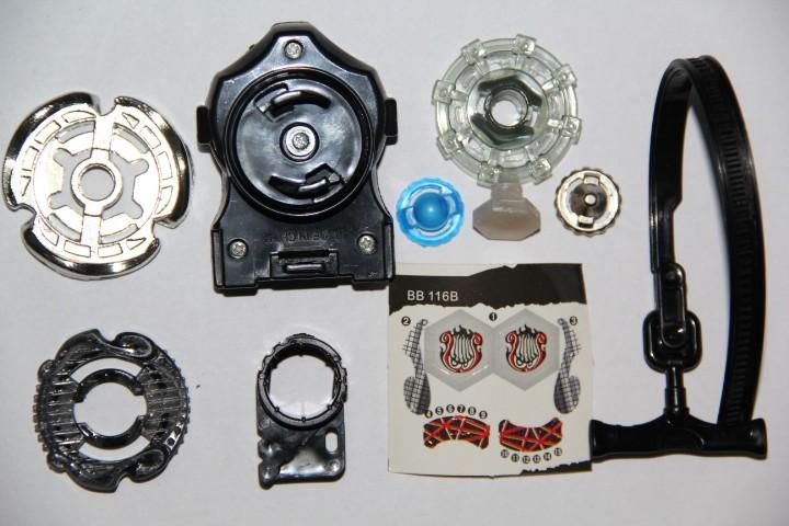 1pcs-BEYBLADE-Metal-Fusion-BB-116-Screw-Lyra-ED145MF-Booster-Pack-NEW-M088 (5)