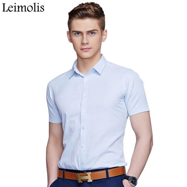 Heren Overhemd Casual.Leimolis Katoen Casual Hawaiian Slim Fit Korte Mouw Heren Overhemd
