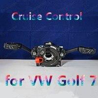 Otomobiller ve Motosikletler'ten Araba Anahtarları ve Röleleri'de Polarlander Kaliteli Çok fonksiyonlu Kombine Anahtar Hız Kontrol 5Q0953507AL için/W G/golf 7 dönüş sinyali anahtarı