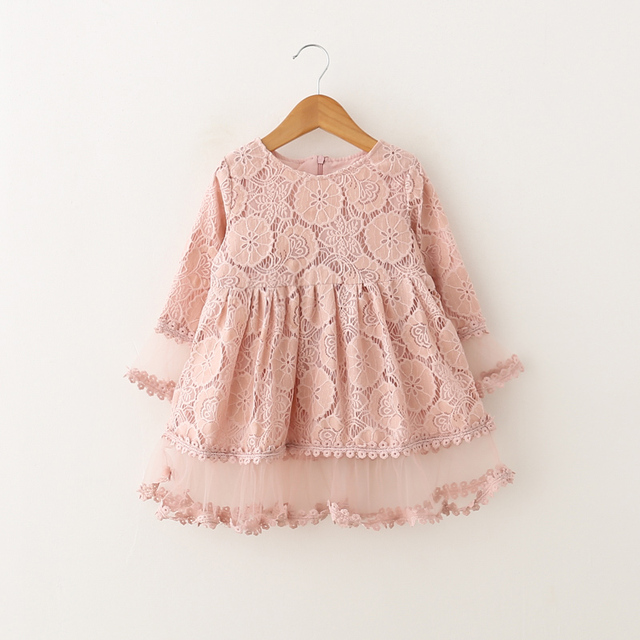 Girls Lace Dress For Spring Summer Stitch Chiffon Clothing 2018 Beautiful  Princess Dress Design Party Dresses 39689b01e