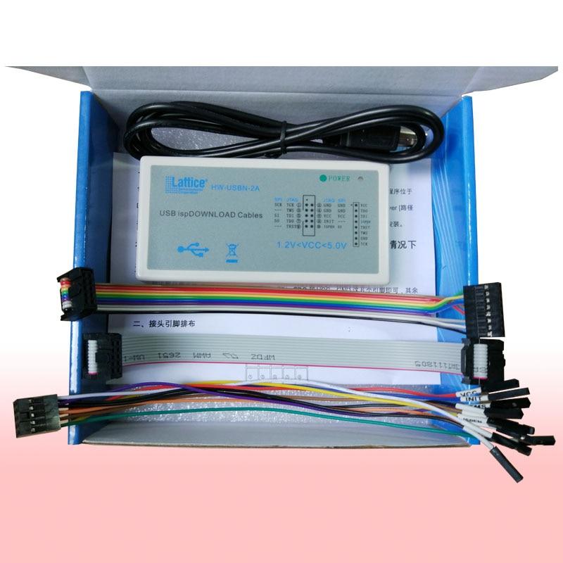 USB Isp Download Cable JTAG SPI Programmer For LATTICE FPGA CPLD Development Board Support Windows