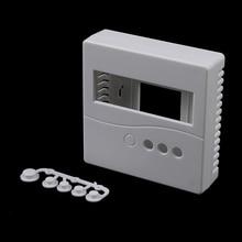 1 шт. белый чехол 8,6x8,6x2,6 см для DIY LCD1602 измеритель с кнопкой 86 Пластиковый корпус для проекта