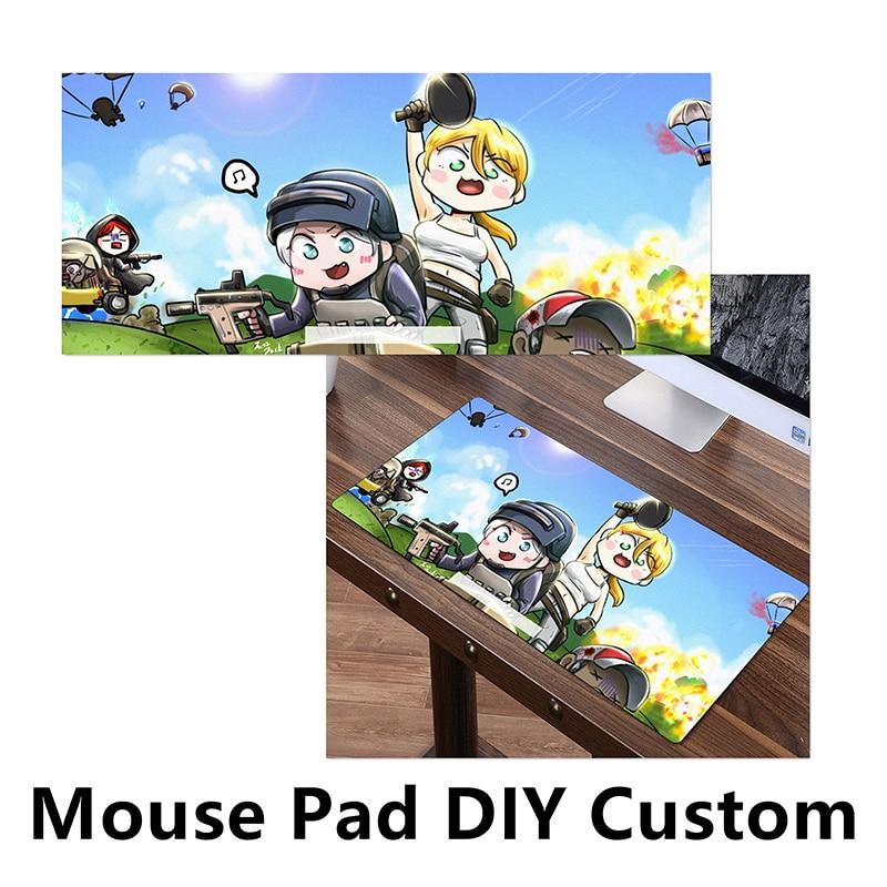 FFFAS Big DIY Custom Mouse Pad Mat Large MousePad Customized Game Gamer Gaming Anime Sexy Keyboard Cushion for PC Latop Notebook kbd75v2 custom keyboard diy kit