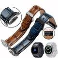 Samsung gear s2 r720 alta qualidade pulseira 20mm assista bracelete de couro genuíno estilo retro smart watch pulseira