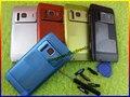 Совершенно Новая Оригинальная Полный Крышку Корпуса Case + Передняя Металлический Каркас Для Nokia N8 + Открытый инструмент, бесплатная доставка