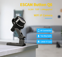 2pcs Escam Q6 Button Mini Wireless Camera 1MP Support Phone And PC View Motion Detector And