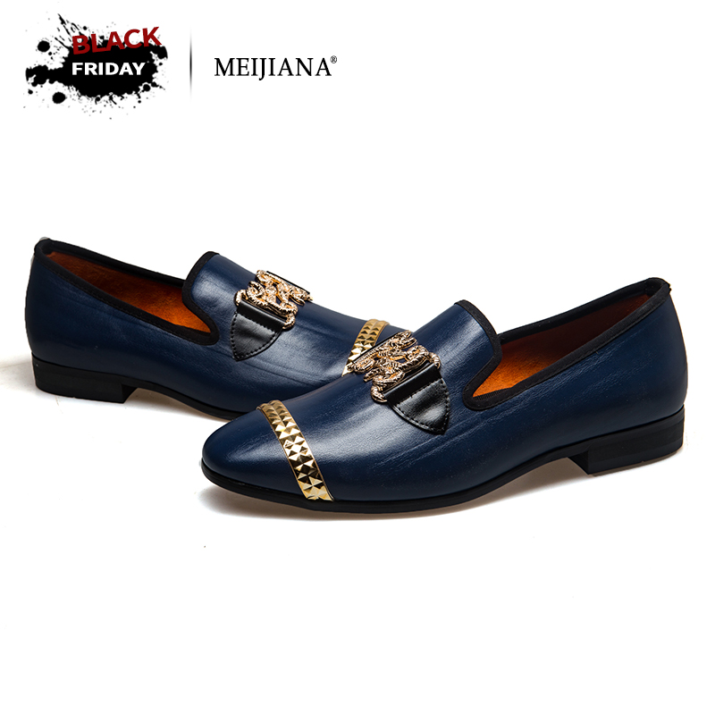 MeiJiaNa 2018 New Men genuine leather loafers Shoes Handsome Comfortable Brand Men Casual Shoes men oxfords top quality handsome comfortable meijiana brand men wedding shoes