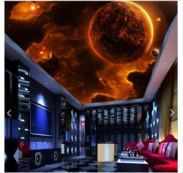 Worldwide Delivery 3d Wallpaper Ceiling Planet In Nabara Online