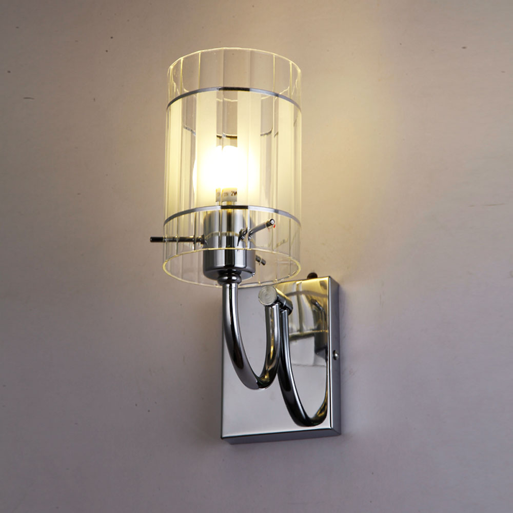 Wall Light Double Lamp Heads Sconce Modern Contemporary ... on Modern Indoor Wall Sconce id=70337