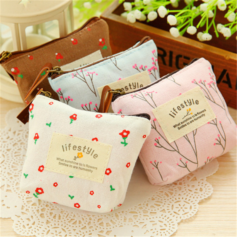 Small Coin Purse For Girls Lifestyle Women Key Car Pouch Money Coin Bag Wallet Portable Pocket Handy Change Purse Porte Monnaie