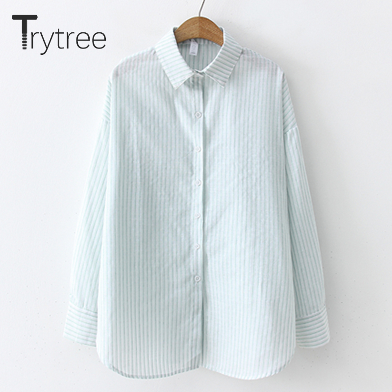 Women's Clothing Good Ttytree Spring Summer Blouses Casual Shirt Women Polyester Office Lady Full Sleeve Soild Collar Bufflerfly Sleeve Tops Shirts
