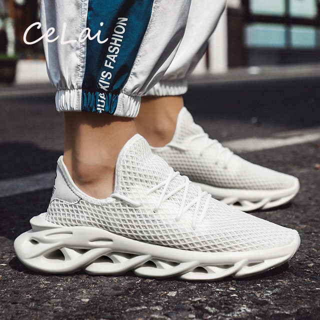 CeLai New Plus Size 39 46 Fashion Krasovki Mens Casual Shoes Male Shoes Sneakers Light Breathable Shoes Tenis Masculino A 054