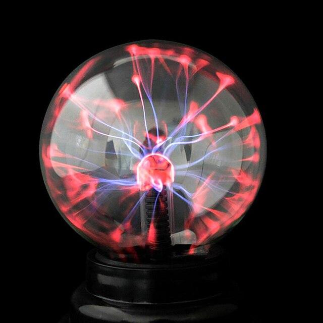 3 inch USB Nachtlampje Statische Kristalglas Lamp Magic Spark Bal ...