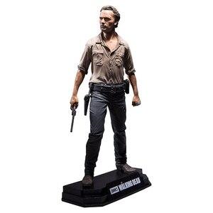 Image 4 - Walking Dead Rick Negan Daril Carol yürüteç aksiyon figürleri bebek çocuklar için noel hediyeleri oyuncak