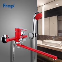 Frap Bathroom Faucet Set Bathroom Shower Faucets Bathtub Tap Bath Mixer Shower System Cold and Hot Shower with Mixer Crane F2243