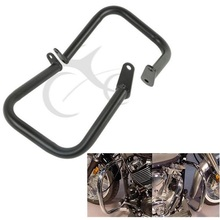Motorcycle Engine Guard Highway Crash Bar For Yamaha XVS Vstar 400 650 Classic Custom Dragstar 98-12 цена