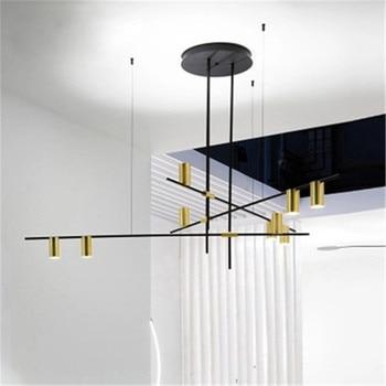 Nordic Style Minimalist Creative Metal Pendant Lamp Postmodern Hall Parlor Bar Living Room Dining Room Bedroom Lighting