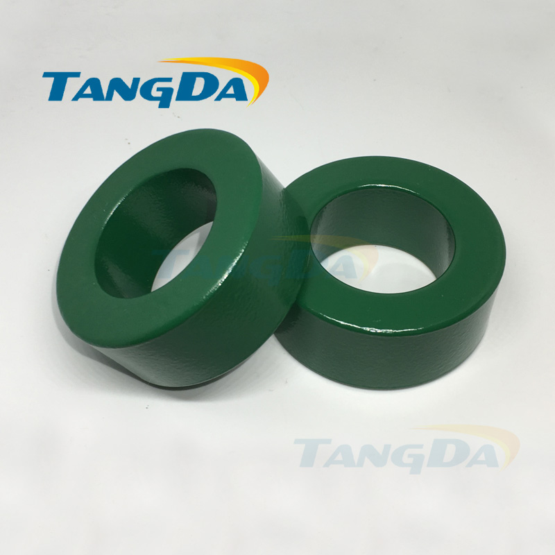 63 38 25 insulated green ferrite core bead 63*38*25 magnetic ring magnetic coil inductanceanti-interference filter A. 25 35 50mm2 awg3 0 vh2 50wf insulated