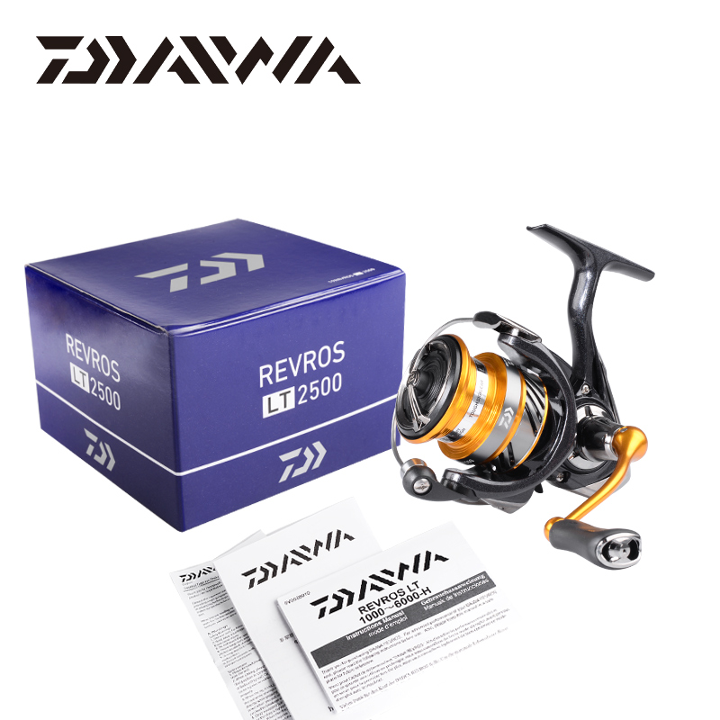 2019 Original DAIWA REVROS LT moulinet de pêche 1000/2000/2500/3000/4000/5000/6000/1/5 Ratio5.1: 5.3. 2:1/: 1 4 + 1BB 5 ~ 12KG - 6