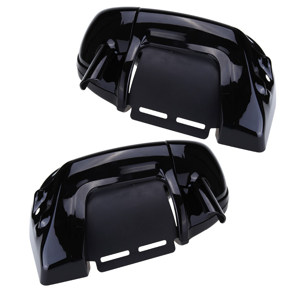 (Shipping From) Motorcycle Painted Lower Vented Leg Fairing Glove Box Hardware For Harley Road King Electra Glide FLHR FLHT lower dens lower dens escape from evil lp