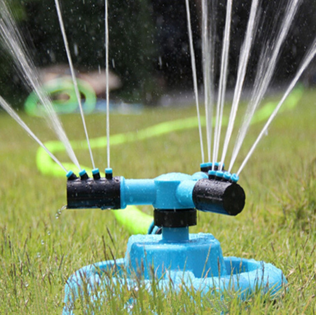 Automatic Rotating Drip Irrigation System For Plant Flower Gardening Tools Watering Supplies Household Water Garden Gadgets