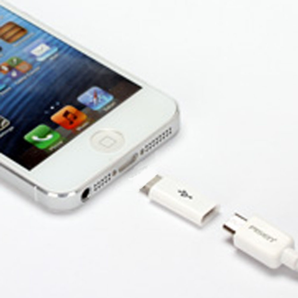 Micro USB Cable To 8 Pin Adapter For IPhone 8 7 6 6S 5 5S 5C SE X For Ipad Converter Charger Female Adapter For IPhone