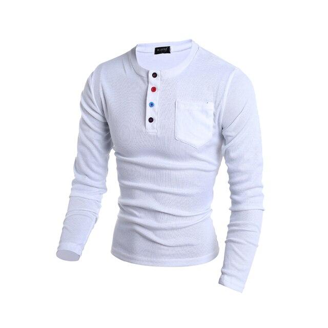 2017 Новое Прибытие мужская Настроить Мода Тонкий Сплошной Цвет лоскутная Polo Shirt Хлопок С Длинным Рукавом Polo Shirt