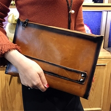 21018 Envelope women party clutch bag chain shoulder bag envelope Leather clutch purse bag female for women handbags messenger все цены