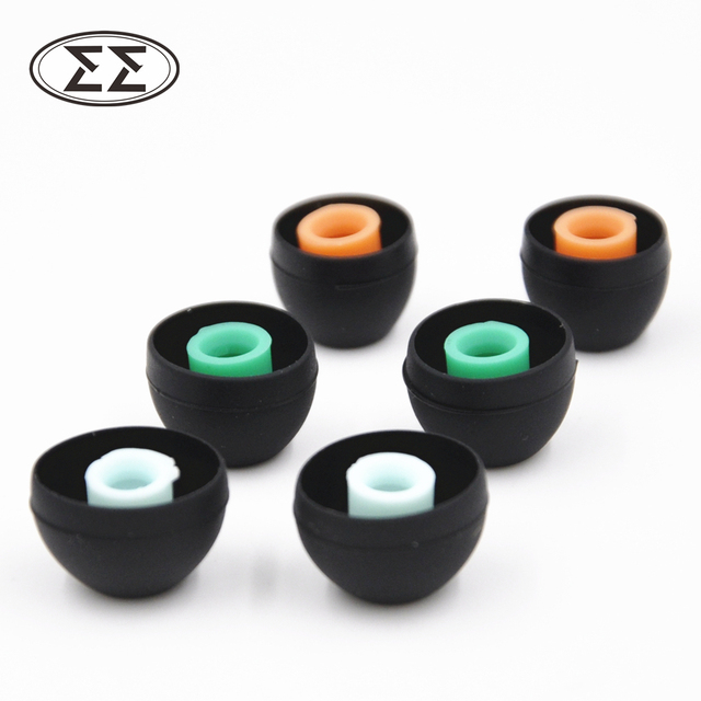New Arrived 3 Pairs(6pcs) L M S In Ear Tips Earbuds Headphone Silicone Eartips/Ear Sleeve/Ear Tip/Earbuds For Earphone
