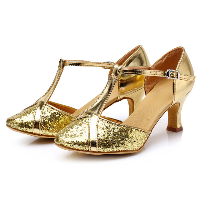 4c84f2bc21 US $12.77 20% OFF|2018 New latinos zapatos Size 34 41 Women Ballroom Latin  Modern Dance Shoes Salsa Ladies Girls Dancing Shoes For Adults-in Dance ...