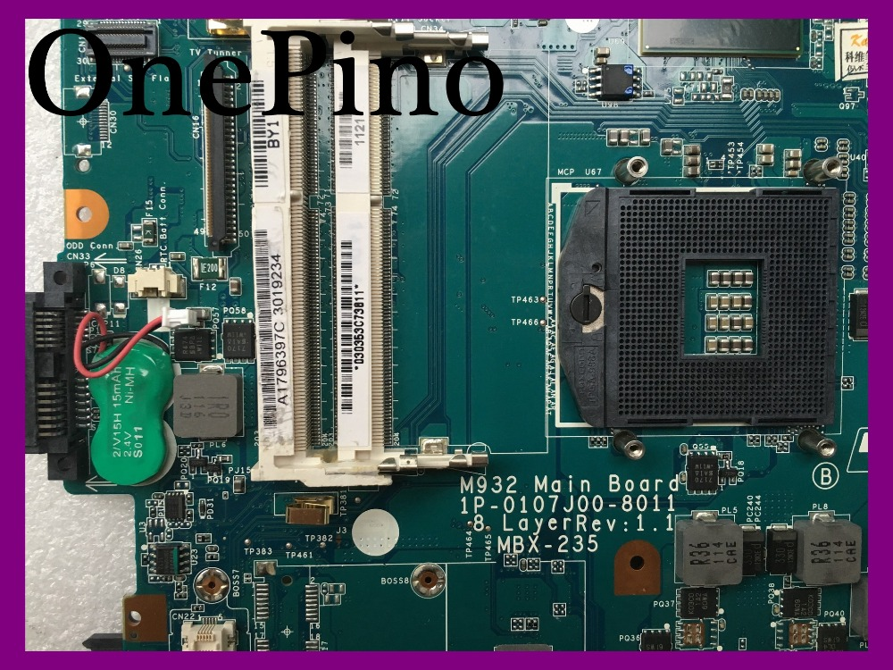 1P-0107J00-8011 M932 MBX-235 motherboard for VPC-F laptop motherboard DDR3 with 4 vedio chipset memorries nokotion a1848525a 1p 0113200 8011 mbx 240 for vaio vpc ca laptop motherboard hm65 ddr3 hd6700m