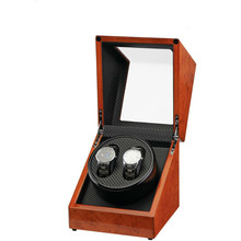 Деревянные часы Winder вилка/батарея использовать повернуть часы Winder для автоматического часы дисплей коробка аксессуары Часы Winder чехол коробки