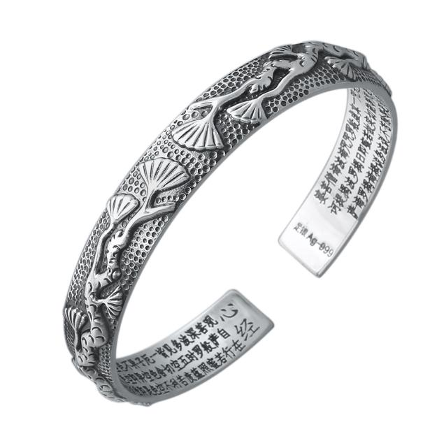 JOOCHEER Sterling S925 silver Bracelet 925 fashion pine Safety cute vintage ethnic pendant  closed bracelet JOOCHEER Sterling S925 silver Bracelet 925 fashion pine Safety cute vintage ethnic pendant  closed bracelet