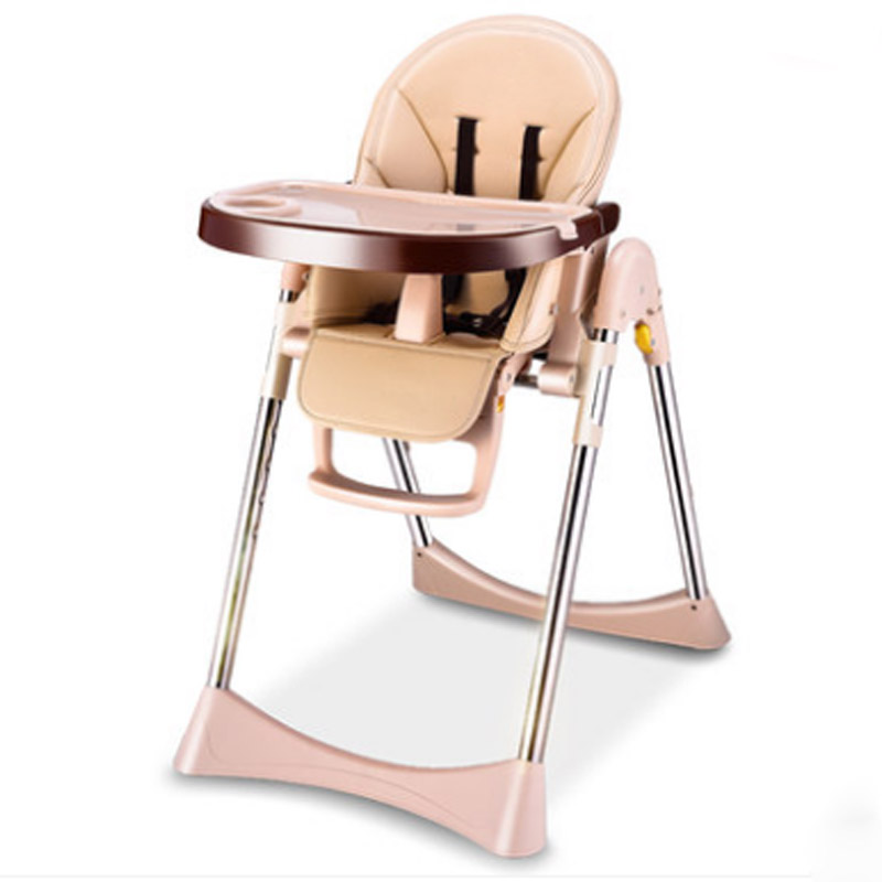 portable folding can sit lying baby dining chair soft cushion baby high chairs baby feeding