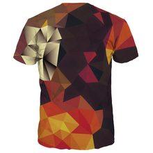 WY 35 Männer/Frauen Sommer Tees Drucken Farbblöcke 3d t-shirt Mode Marke T-shirts