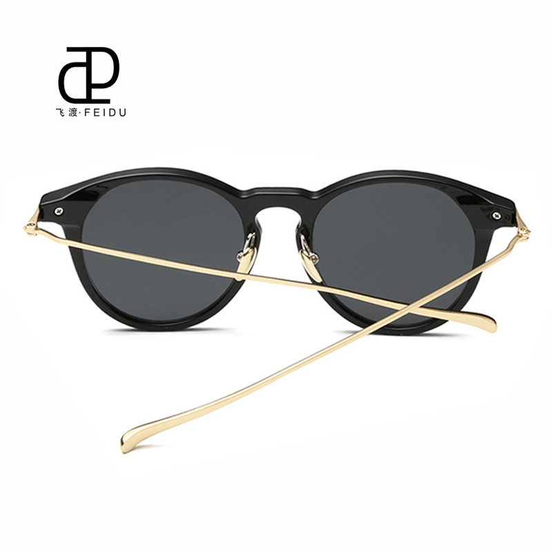 FEIDU 2016 New Cat Eye Sonnenbrille Frauen Marke Designe Körnung - Bekleidungszubehör - Foto 3
