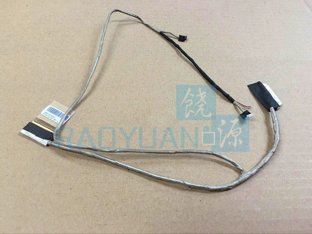 Genuine New LCD Video Screen Data Cable Wire For Asus X202E S200 S300 S400 T00T S200E DD0XJ7LC020 14005 007404 LCD CABLE-in Computer Cables ...