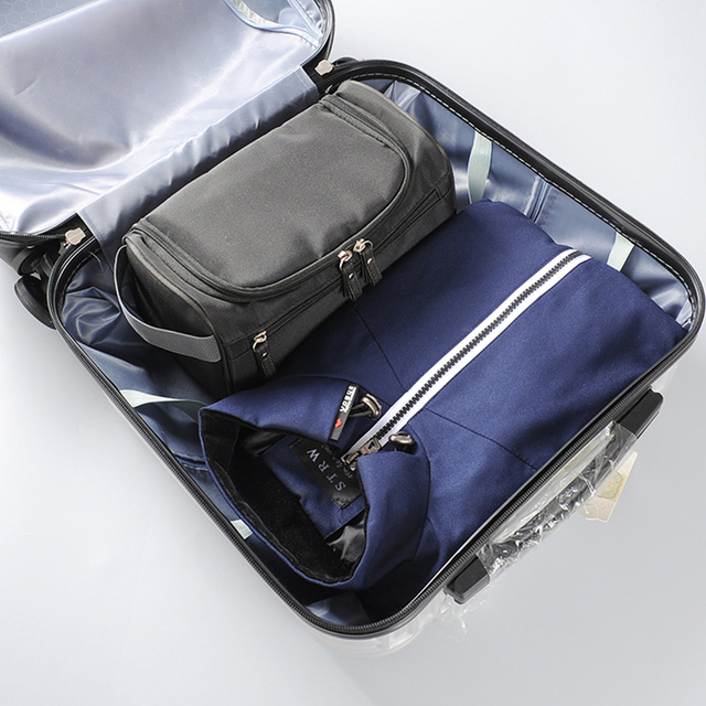 Waterproof Hanging Cosmetics Storage Professional Beautician Storage Container Toiletries Wash Bag