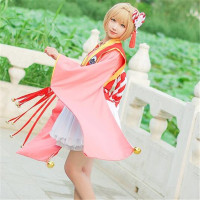 2017 New Clothing Hot Captor Girl Uniform Spring Bathrobe Sakura Lolita Cosplay Costume Clothes Headdress Waist