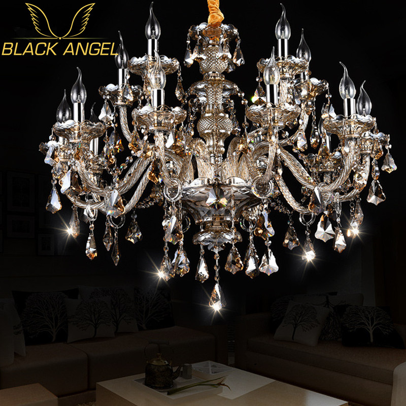 цены Retro Wedding Chandeliers in living room decor hotel hall pendant lamps for home lampada led lustre abajur luxury bedroom lights