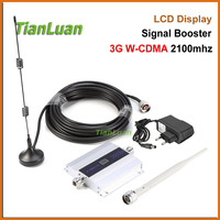 FULL SET 3G W CDMA 2100MHz Mobile Phone Signal Booster 3G 2100 MHz UMTS Signal Repeater
