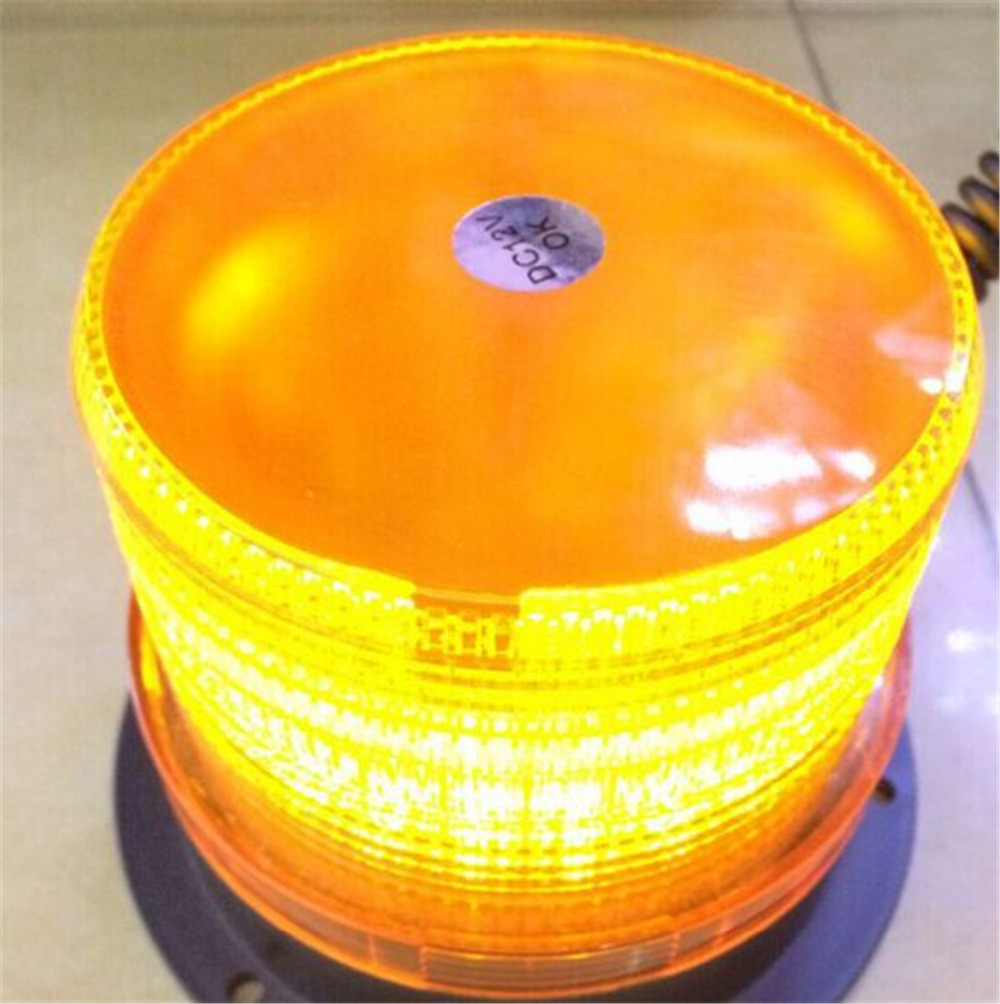 1PCS DC12V High Power Car Mounted Vehicle Police Warning Light LED Flashing Beacon Strobe Emergency Lighting Lamp For Jeep SUV