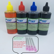 YOTAT 4x 100ml Refill Dye Ink kit for LC221 LC223 for Brother DCP-J562DW DCP-J4120DW MFC-J480DW MFC-J680DW MFC-J880DW printer 1set full ink for brother lc221 lc 221 231xl ink cartridge for brother dcp j562dw mfc j480dw mfc j680dw mfc j880dw