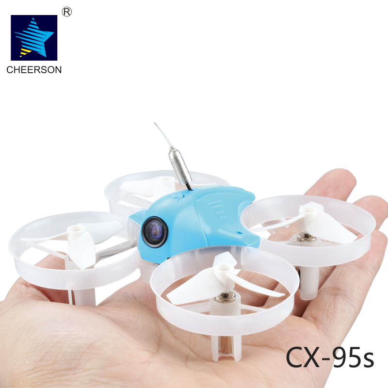 Cheerson TINY CX-95S CX95S DIY mini through the machine 80mm FPV Racing Quadcopter BNF Based On F3 Flight Controller f09166 10 10pcs cx 20 007 receiver board for cheerson cx 20 cx20 rc quadcopter parts