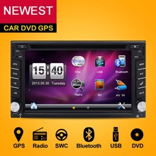 2018 New 6.2″ Touch Screen car dvd DIN player gps navigation USB SD Bluetooth FM 2din in dash TFT support rear view camera input