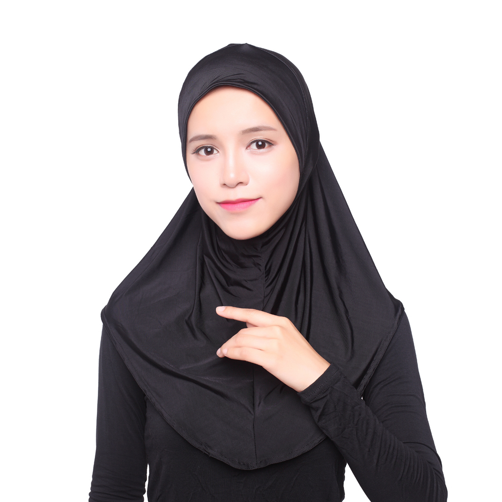 10pcs lot summer women s hat Modal soft Inner hijab popular mix design 12 colors hot